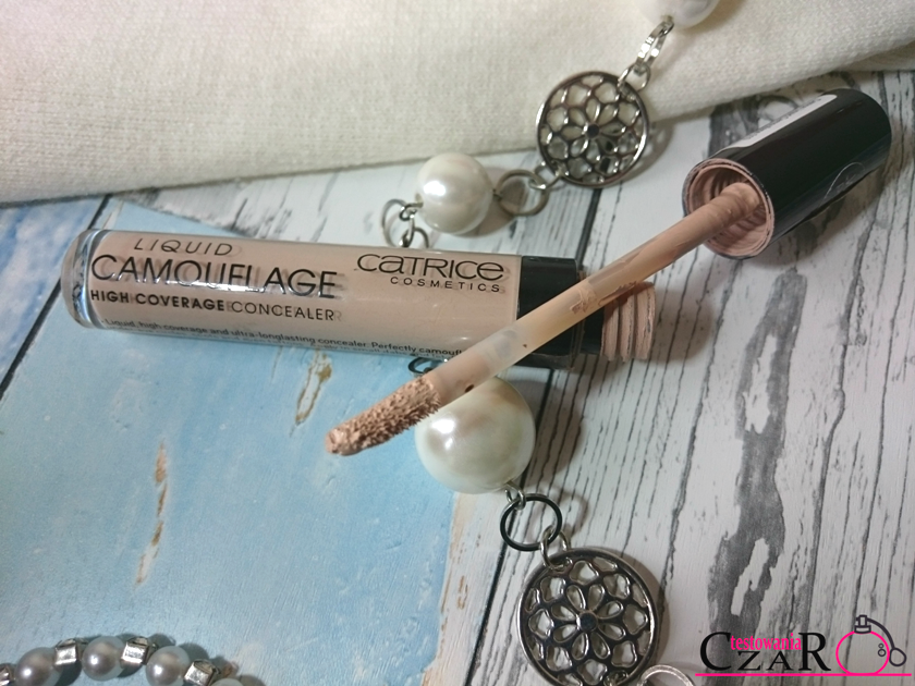 Camouflage High Coverage Concealer Waterproof kolor: 010 Porcellain