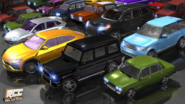 RCC - Real Car Crash Hileli APK - Sınırsız Para Hileli APK