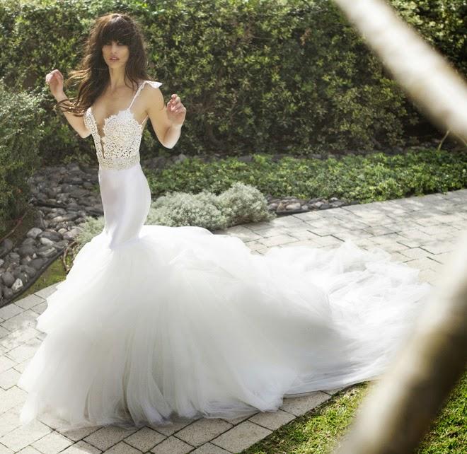 Megan Wedding Dress: Zahavit Tshuba 2015 Bridal Collection