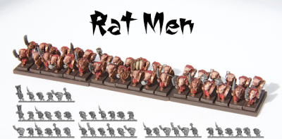 Unit consists of one random banner, and five random strips. Lead-free pewter, supplied unpainted and without bases.