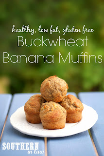 Healthy Buckwheat Banana Muffins Recipe Gluten Free