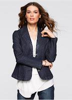 Jachetă din blug tinerească şi modernă (bonprix)