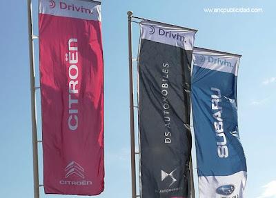 imprimir banderas publicidad