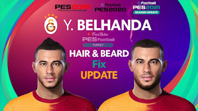PES 2021 Faces Younès Belhanda by PES Football Turkey