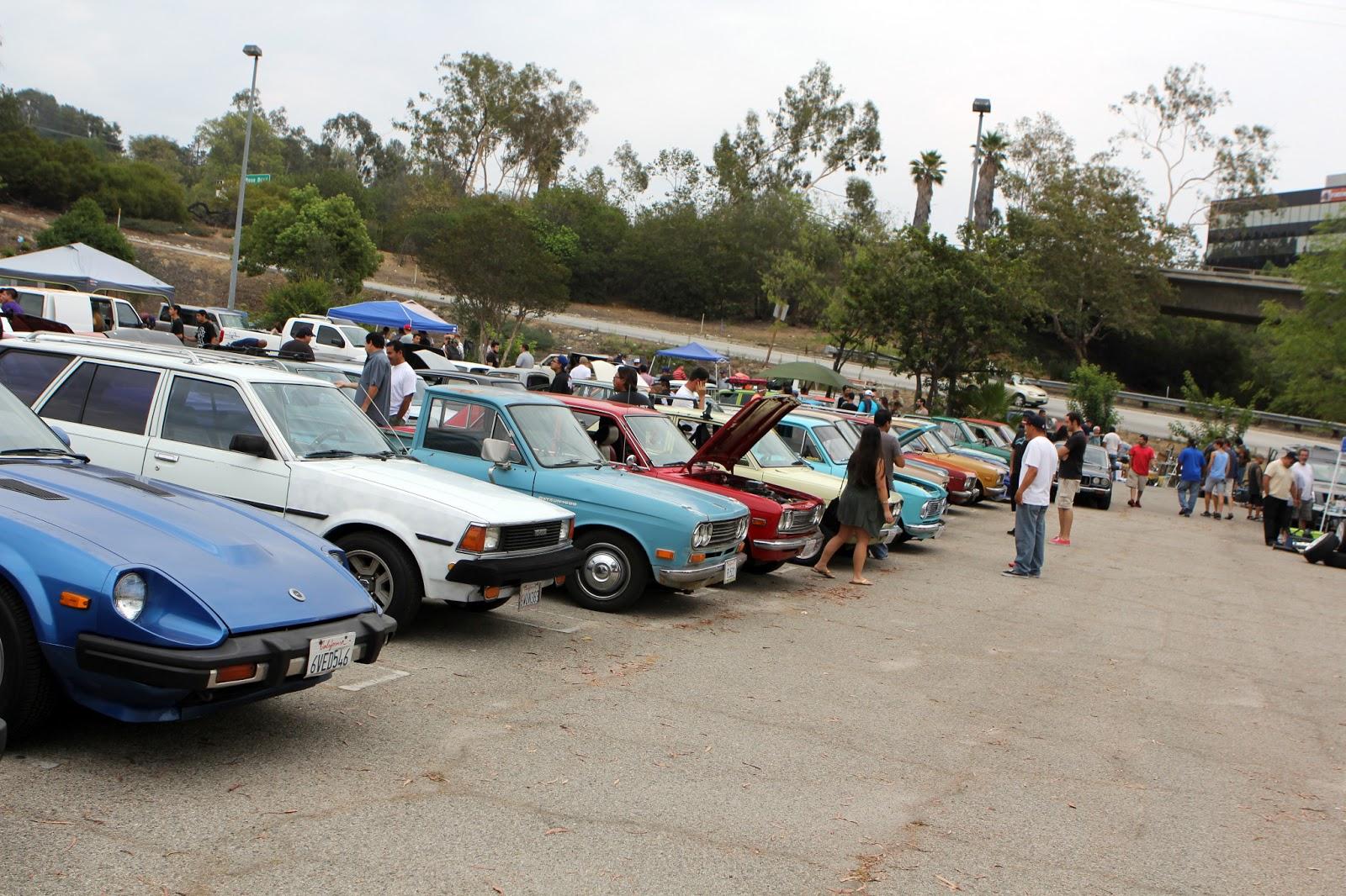 datsun nippon car show and swap meet