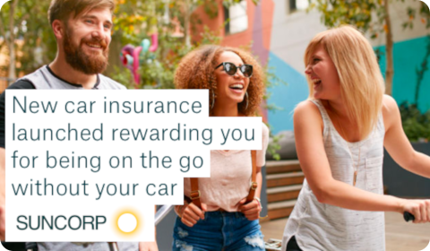 Suncorp launches new car insurance