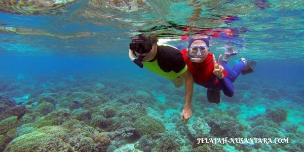 explore pantai open trip gili labak madura