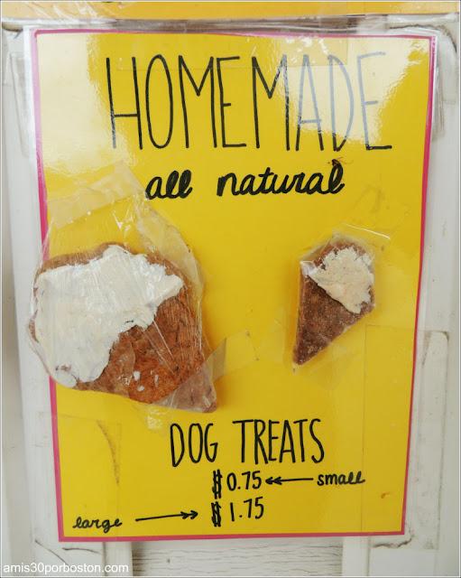 Dulces para Perros de la Heladería Hodgie's Too Ice Cream