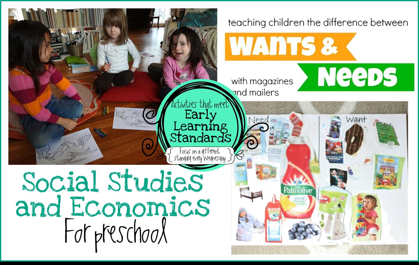Preschool Ponderings: Social Studies Activities for Preschool