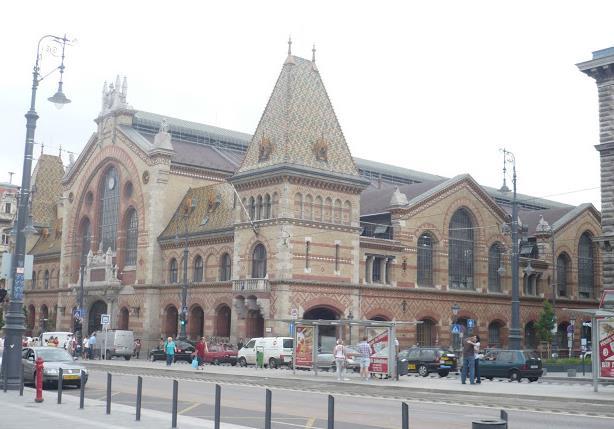 Mercato coperto a Budapest