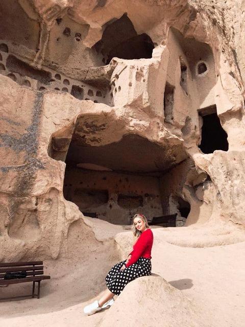 Passear pelos vales da Capadócia na Turquia