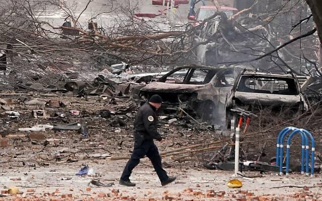 Nashville Car Bomb Appears Intentional ? Nashville Explosion On Christmas Day