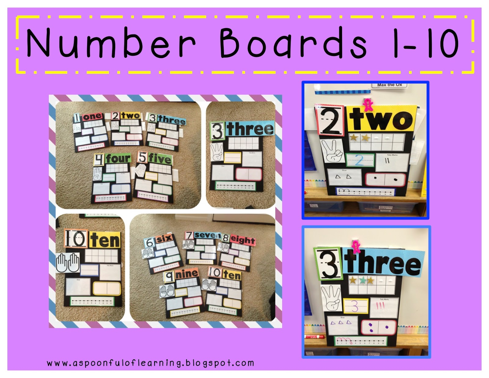 Number Boards For Your Classroom!