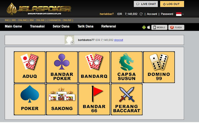 Cheat Hack Bandar Poker Online Terpercaya Dengan Nilai Menang 90% !