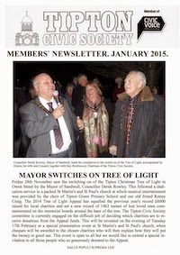 TCS Newsletter January 2015