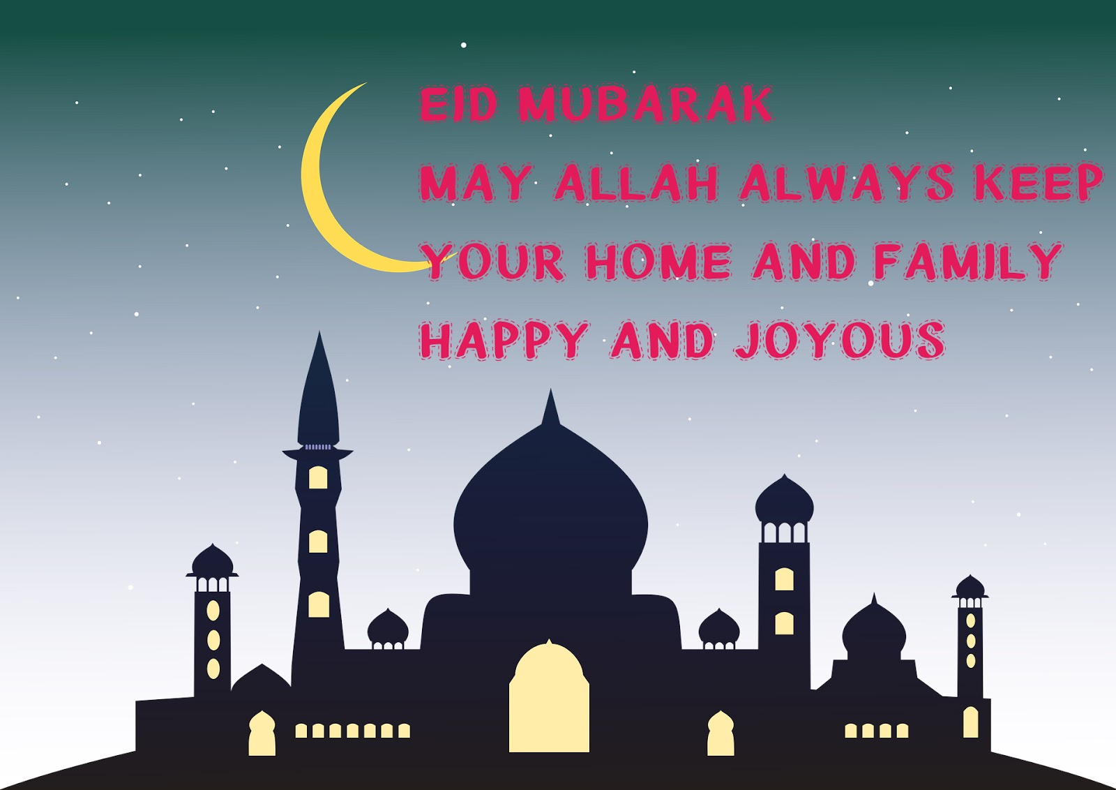Eid greetings for friends
