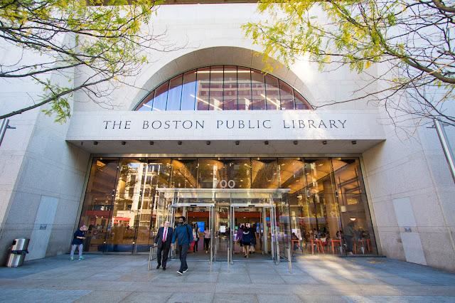 Public library-Boston