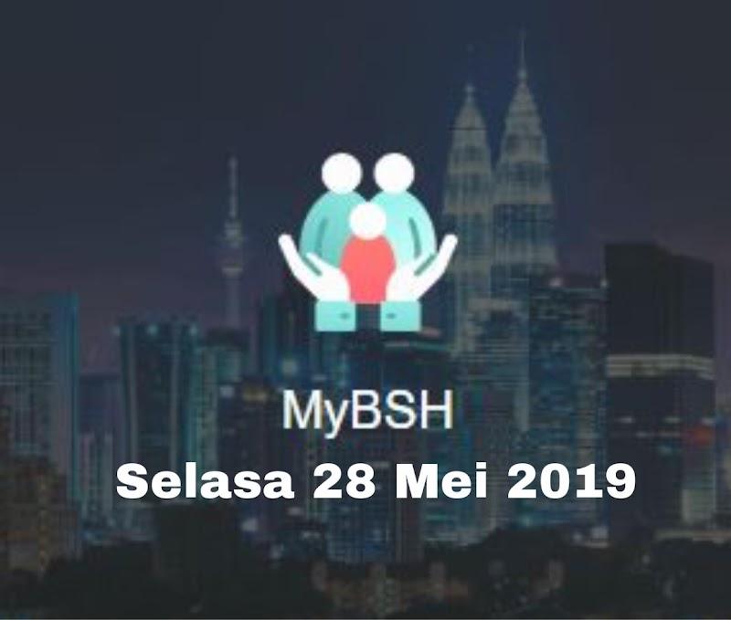 Bantuan Sara Hidup (BSH) Fasa Ke 2 Akan Dikreditkan Bermula Selasa 28 Mei 2019