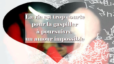 Belle Citation d'amour impossible