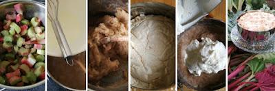 Zubereitung Hannchen-Jensen-Torte mit Rhabarber