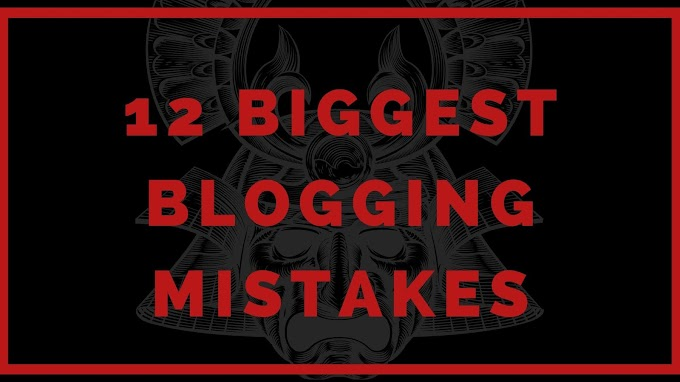 12 Biggest Blogging Mistakes And Solutions For Beginners in Hindi
