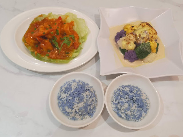Butterfly Pea Rice