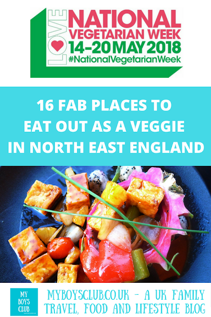 national vegetarian week where to eat out north east england