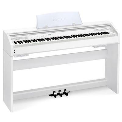 Cấu trúc bàn phím của piano điện Casio Celviano và Casio Privia