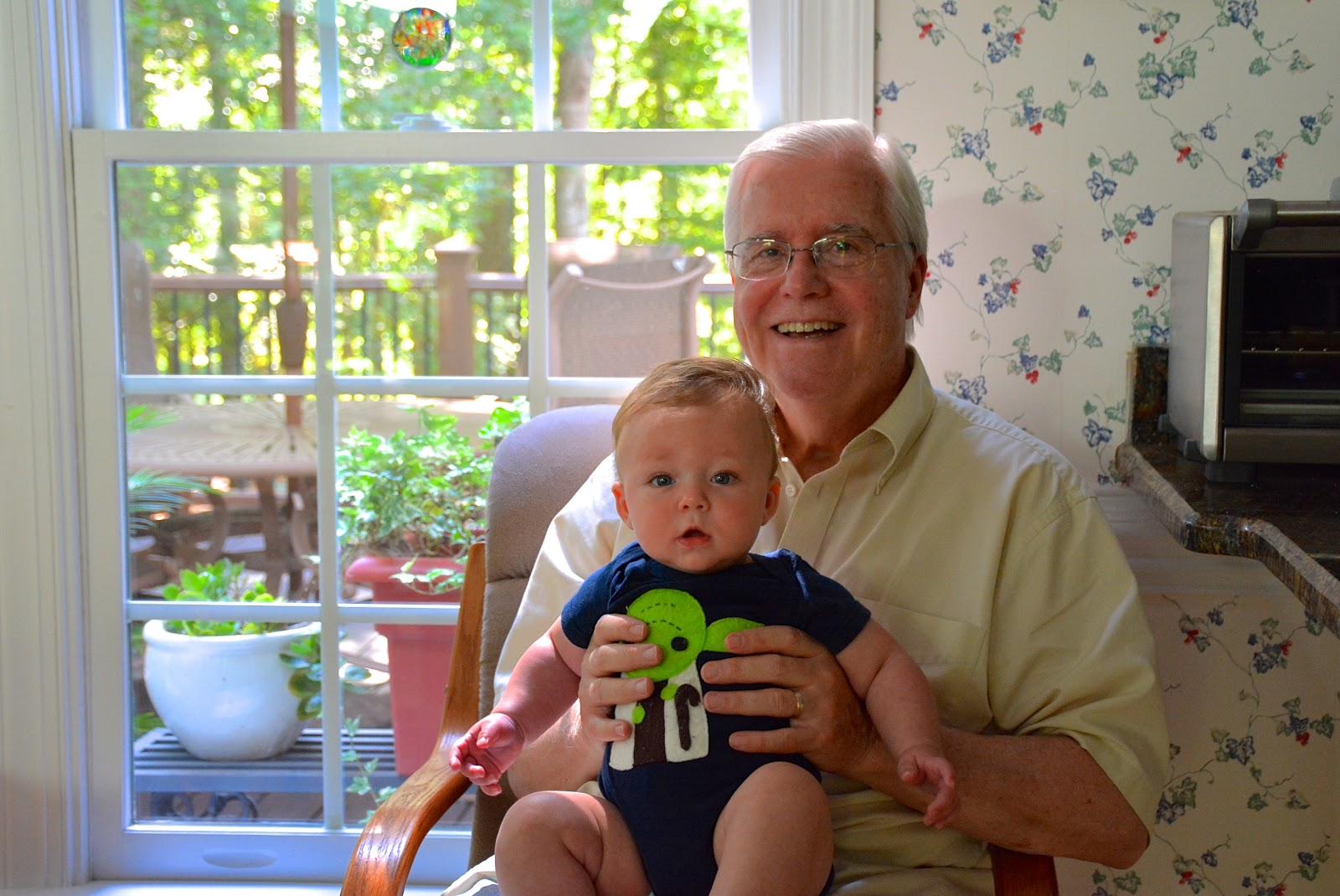 Grampa Bill and Finley