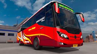 Download Mod Ets2 bus XHD Maxibus by Csart