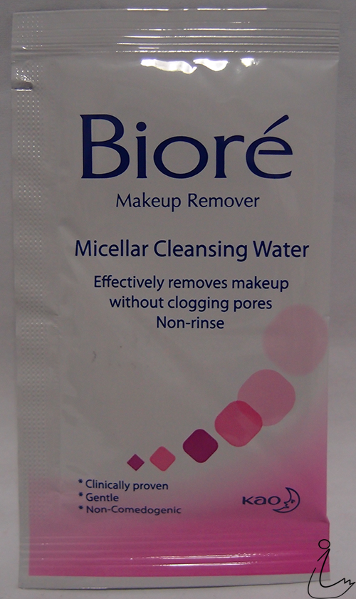 Biore micellar cleansing water acne care review