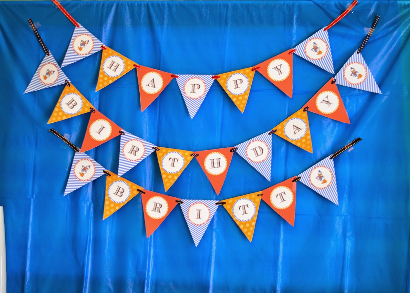 donald duck birthday party