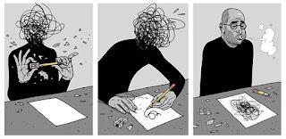 當你感到受不了的時候,塗鴉可以幫你紓解一切