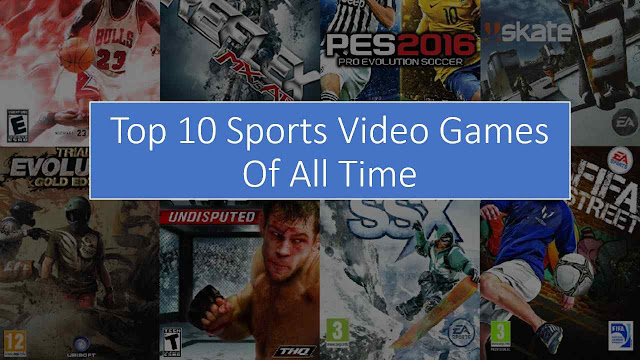 Top10 Sports Video Games Of All Time - Games Atlantic