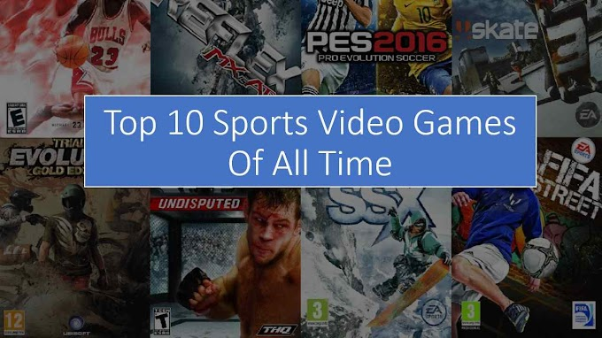 Top 10 Sports Video Games Of All Time - Games Atlantic