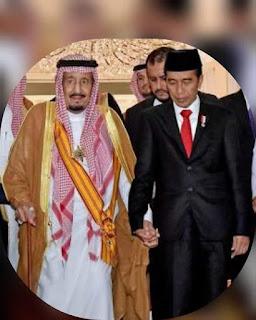 Presiden Jokowi Hubungi Raja Salman Sampaikan Selamat Iduladha