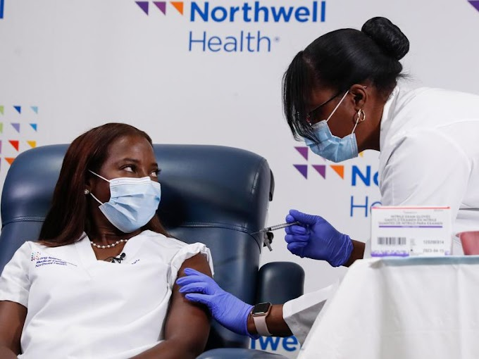Vaccination Sites Denying Appointments To White People...