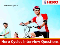 Hero Cycles Interview Questions