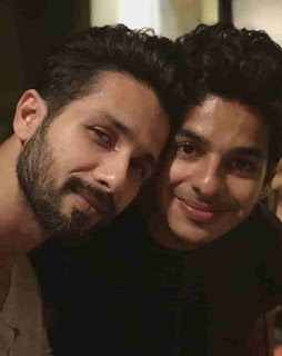 Shahid Kapoor With His Half-Brother