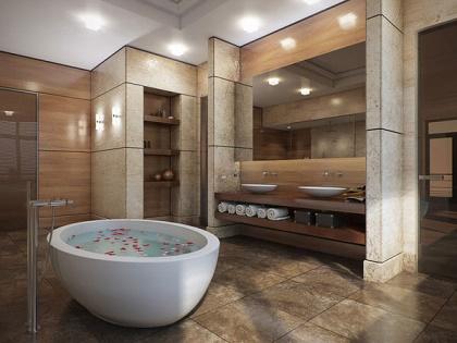 Diseno De Banos Modernos Con Jacuzzi.Fotos Ideas Para Decorar Casas