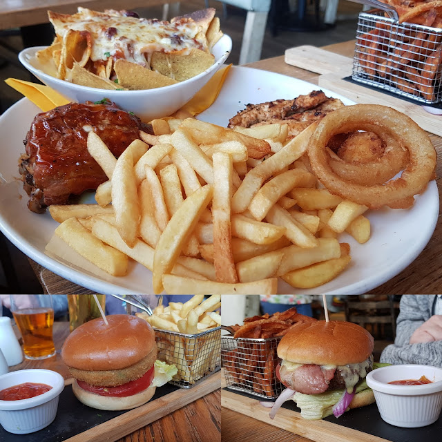 Coral Island review main meals Streaker Surfer Mega Pirate Platter No meat Burger
