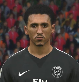 PES 2017 Faces Marquinhos by FaceEditor Jefferson_SF