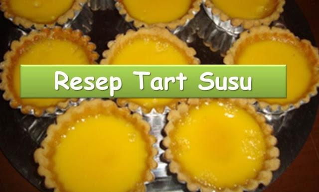 Resep Tart Susu