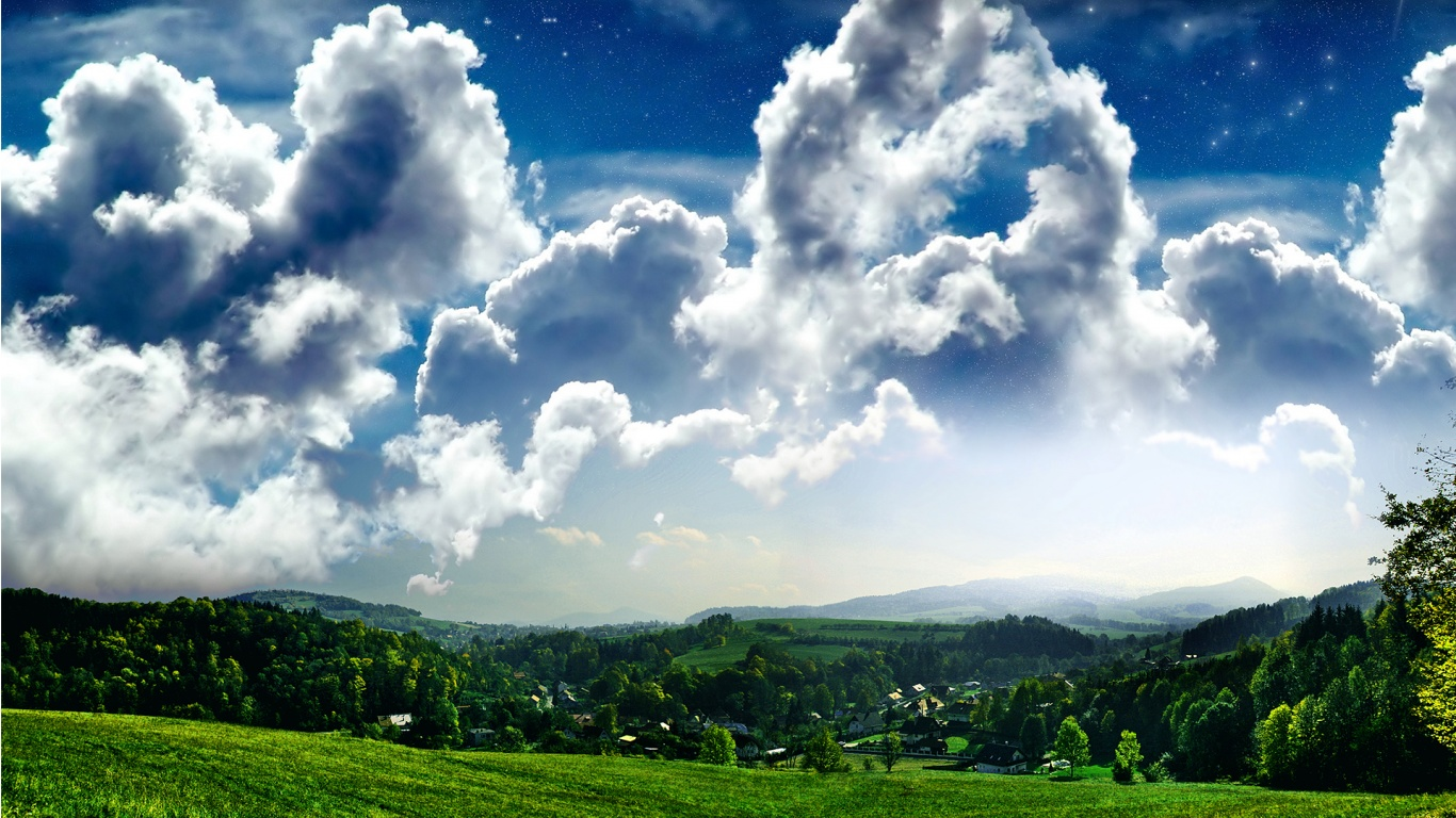 Beautiful Landscape Scenery Wallpaper | Scenery Backgrounds