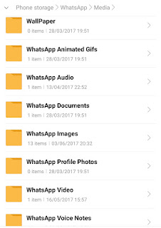 Cara menghapus file terkirim pada aplikasi whatsapp