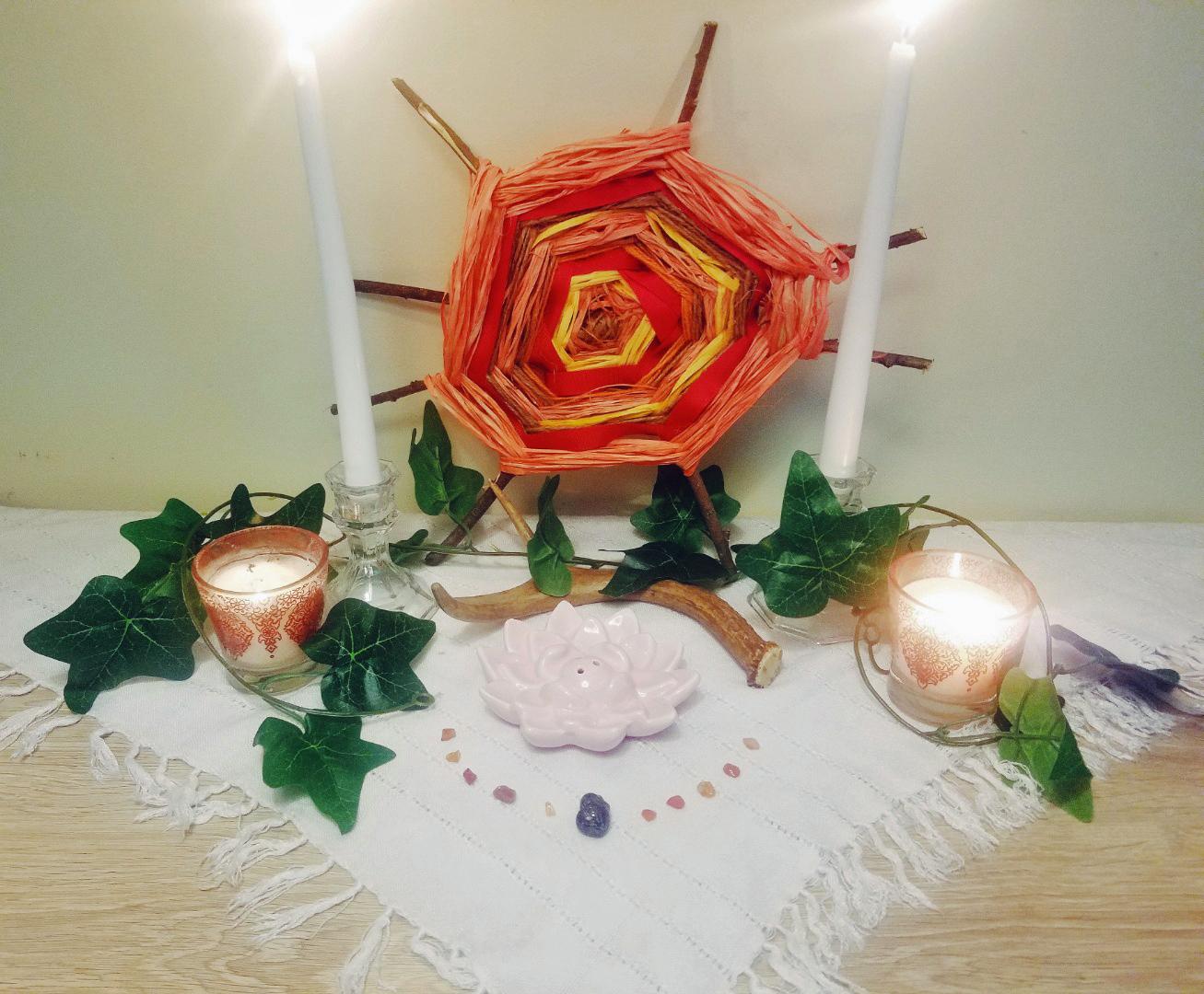 Litha Altar 2019