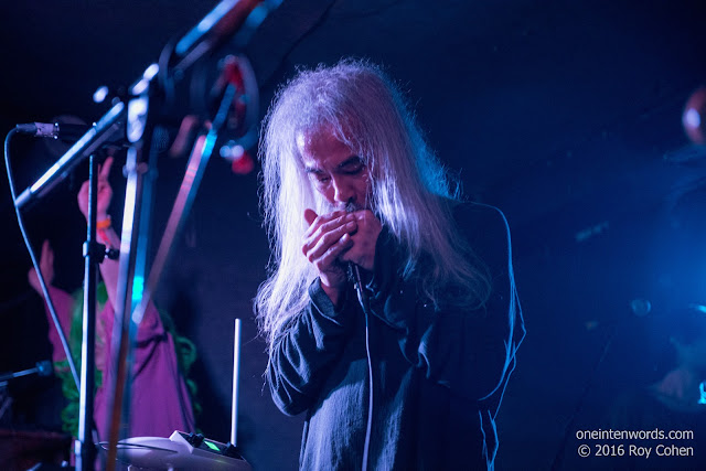 Acid Mothers Temple at The Garrison in Toronto, April 1 2016 Photos by Roy Cohen for One In Ten Words oneintenwords.com toronto indie alternative live music blog concert photography pictures
