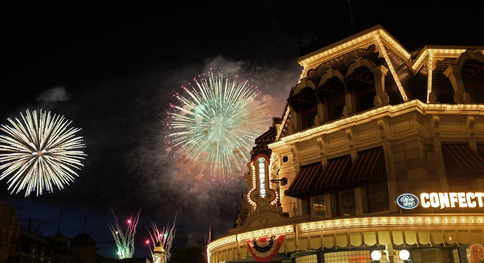 Fourth of July fireworks at Walt Disney World