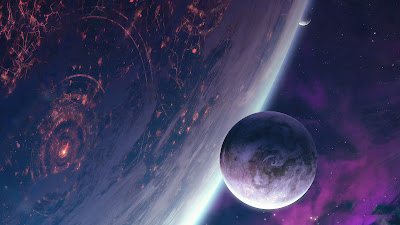 Free planets wallpaper in Galaxy Space