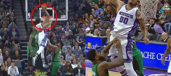 Willie Cauley-Stein Flies for SICK Alley-Oop vs. the Celtics (VIDEO)